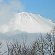 富士山:2012年31日東名・富士川SAから