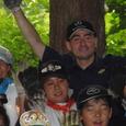 環境学校の子供たちと野口健さん