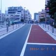 完成した新装の巴橋