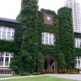 立教大学象徴の緑の時計塔(棟)